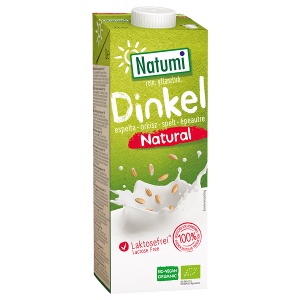 Bio Dinkel-Drink natural