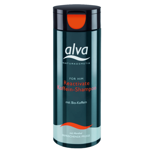 alva For Him Reactivate Koffein-Shampoo, 200ml