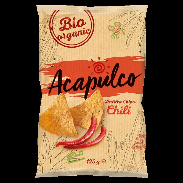 Acapulco Bio Tortilla Chips Chili