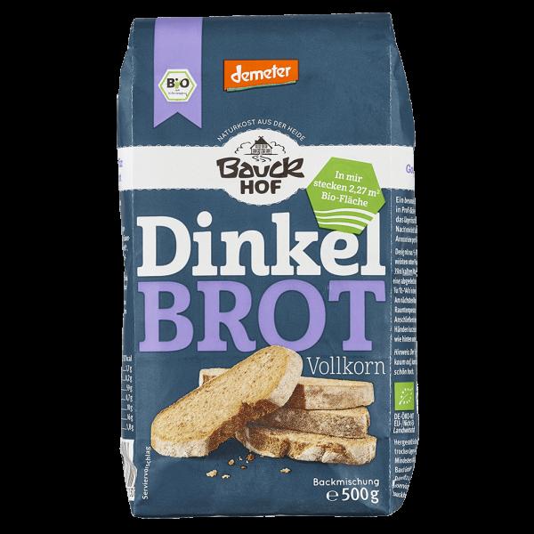 Bauckhof  Bio Dinkel Brot Backmischung Vollkorn, 500 g