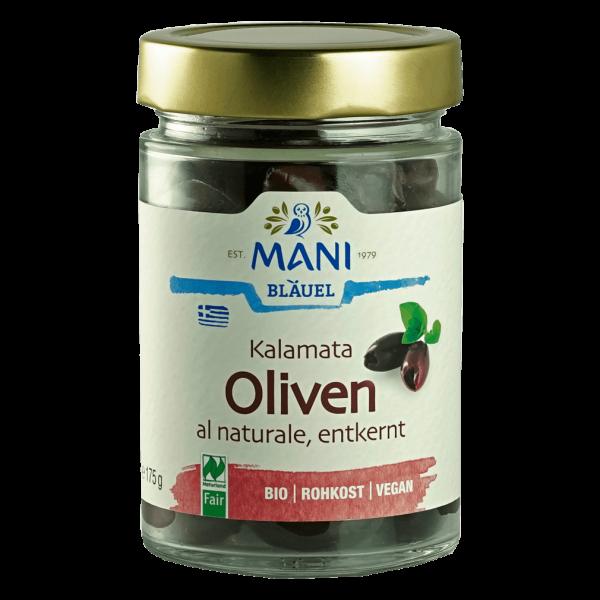 Bio Kalamata Oliven entkernt