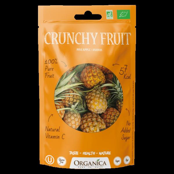 Organica Bio Crunchy Fruit, Ananas