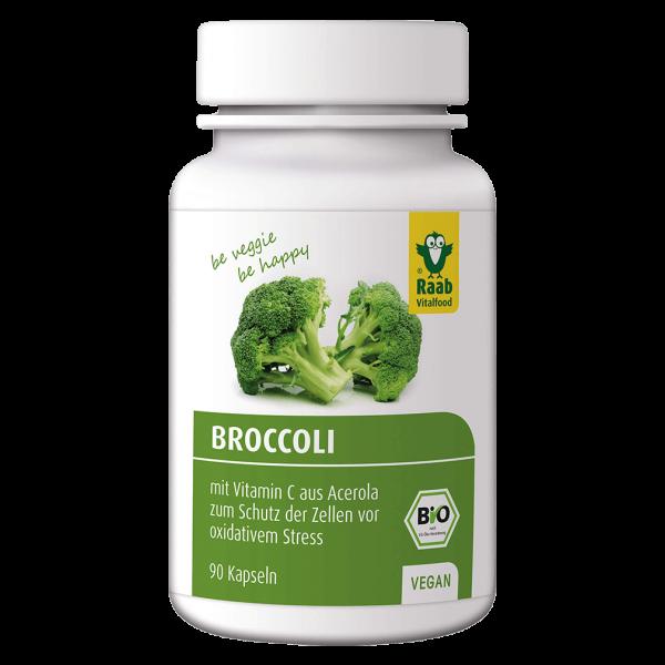 Raab Vitalfood Bio Broccoli Kapseln