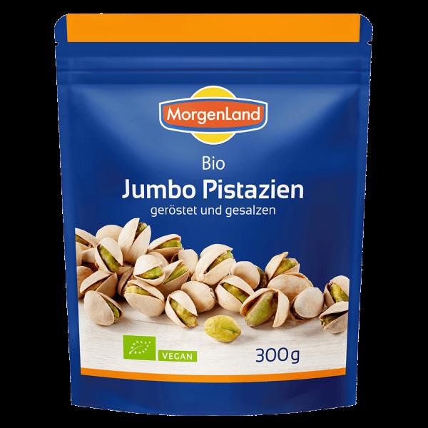 MorgenLand Bio Jumbo Pistazien geröstet und gesalzen