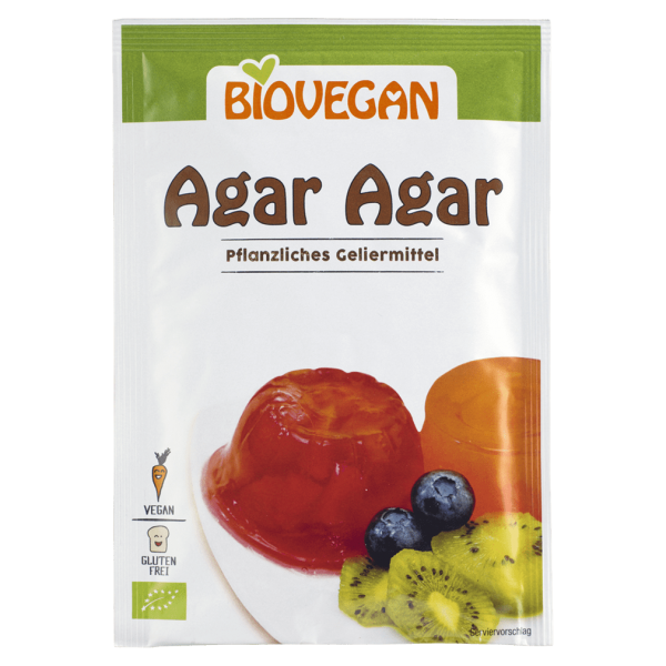 Biovegan Bio Agar Agar pflanzliches Geliermittel