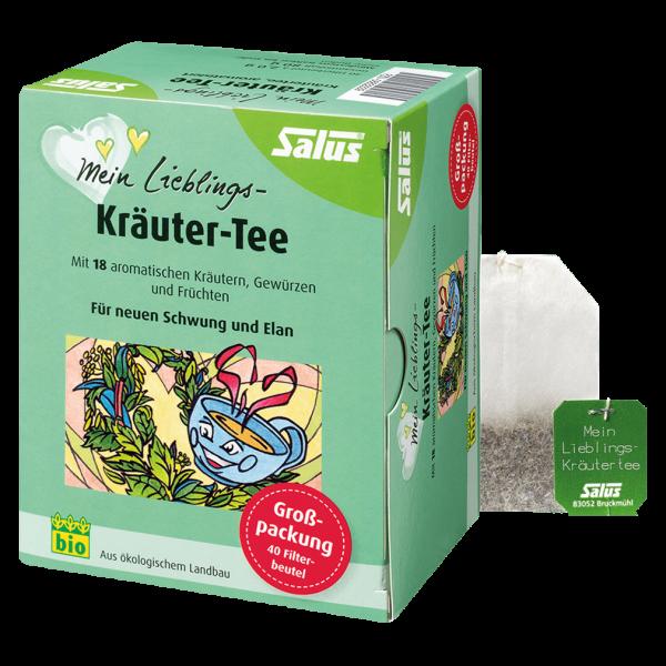 Salus Bio Mein Lieblings Kräutertee 40 Beutel