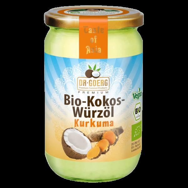 Dr. Goerg Bio Kokos-Würzöl mit Kurkuma