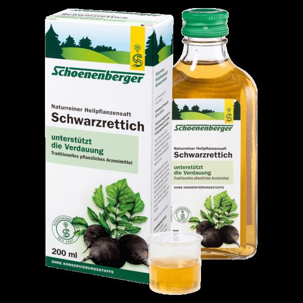 Salus Schwarzrettich Heilpflanzensaft
