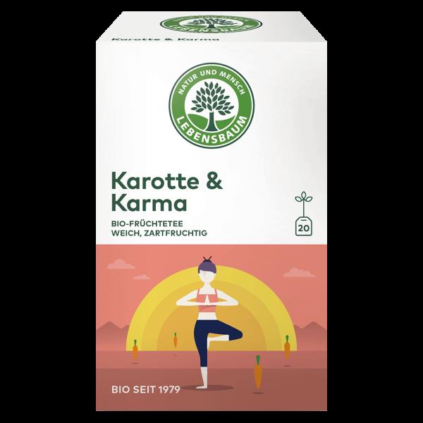 Lebensbaum Bio Karotte & Karma Tee, 40g