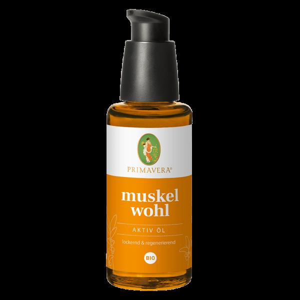 Primavera Muskelwohl Aktiv Öl, 50ml