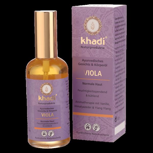 Khadi Viola Gesichts- und Körperöl