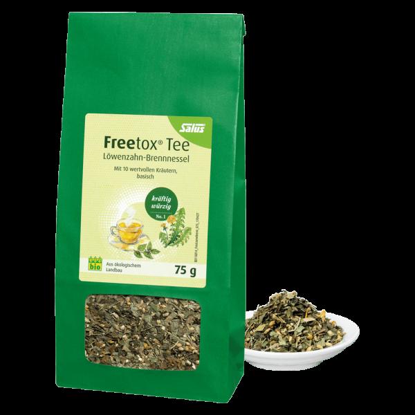 Salus Bio Freetox Löwenzahn-Brennnessel Tee (lose)