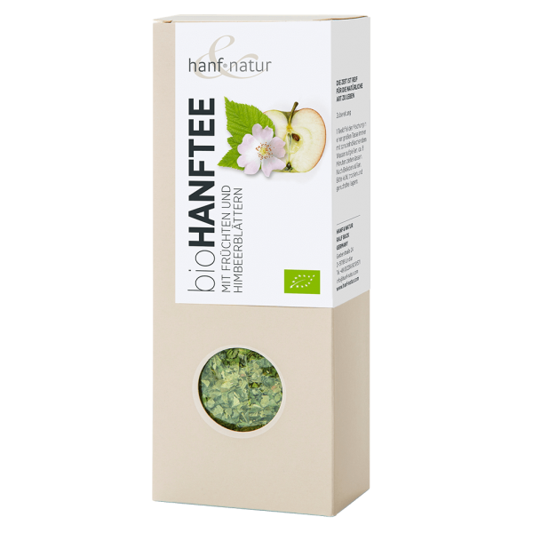 hanf natur Bio Hanf-Tee-Mischung mit Früchten, lose