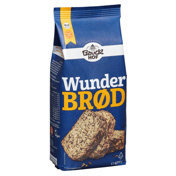 Bauckhof  Bio Wunderbrød, 600g glutenfrei