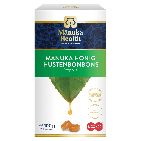 Manuka Health Hustenbonbons Propolis