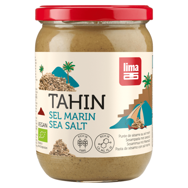 Lima Bio Tahin mit Meersalz