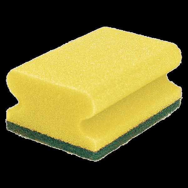SZYMANEK Putzschwamm gelb/grün
