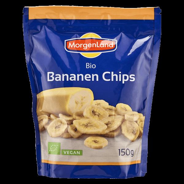 MorgenLand Bio Bananen Chips