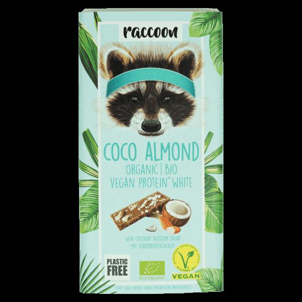 raccoon Bio Protein Choc Coco Almond