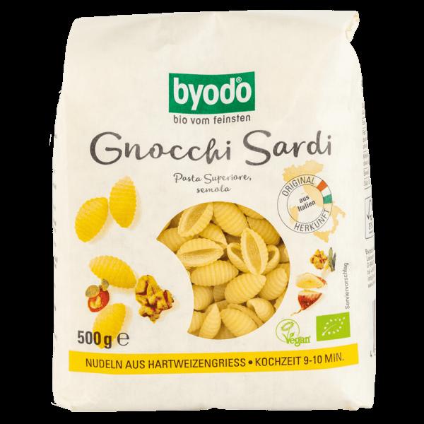 byodo Bio Gnocchi Sardi semola 500g