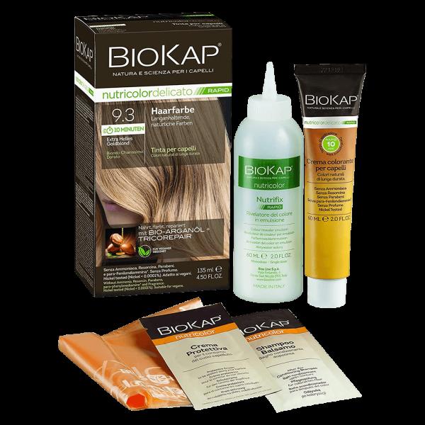BioKap Haarfarbe Extra helles Goldblond Nr. 9.3