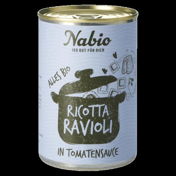 NAbio Bio Ravioli in Ricotta-Tomatensauce