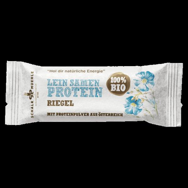 Schalk Mühle Bio Protein Riegel Lein Samen