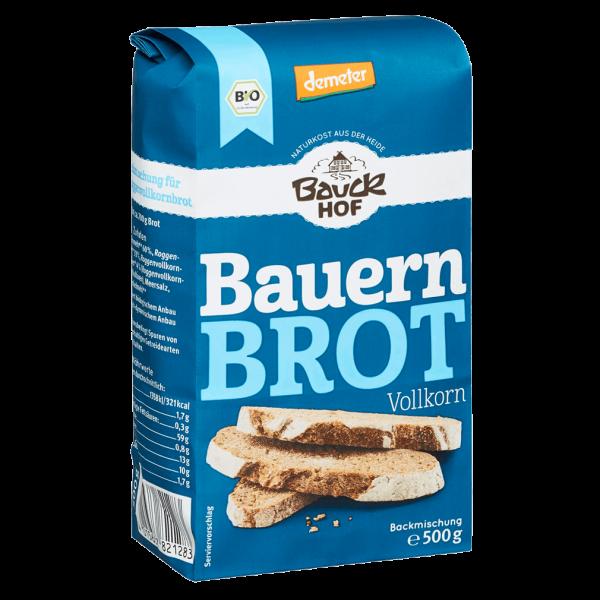 Bauckhof  Bio Bauernbrot Vollkorn, 500g