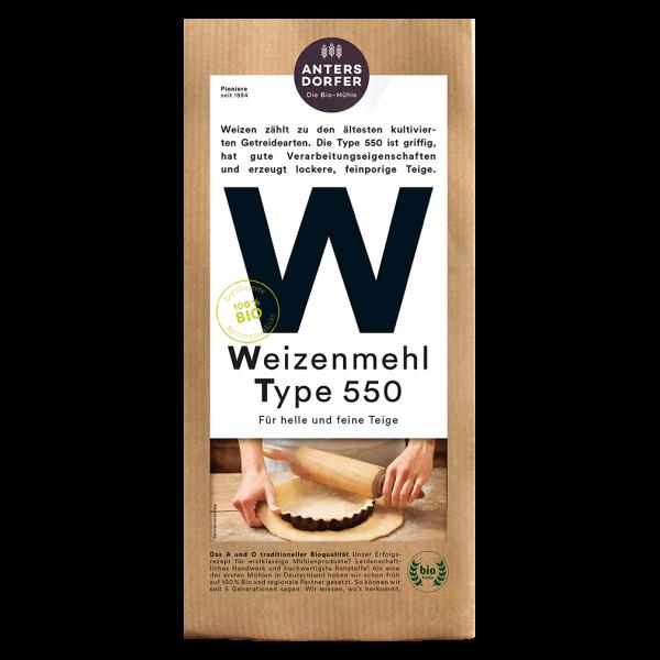 Antersdorfer Bio Weizenmehl Type 550