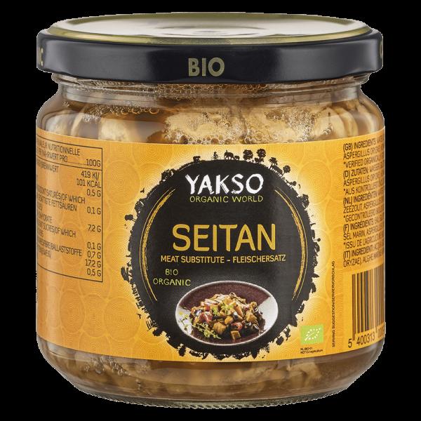 Yakso Bio Seitan, in Tamari, 330 ml Glas (200 gr)