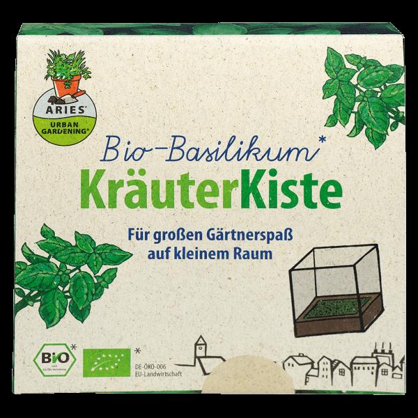 Aries Bio Basilikum KräuterKiste