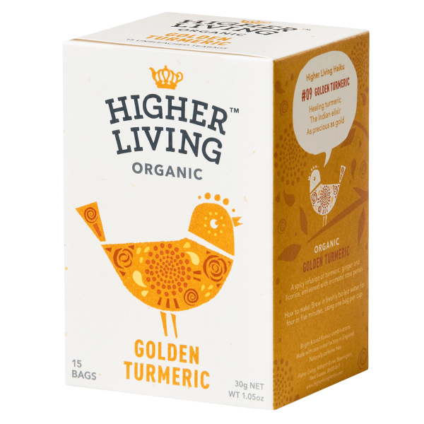 Higher Living Bio Golden Turmeric, 15Btl