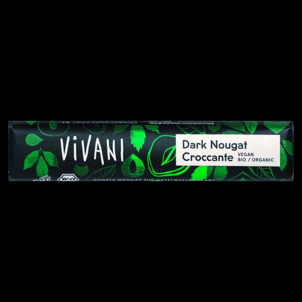 Vivani Bio Dark Nougat Croccante