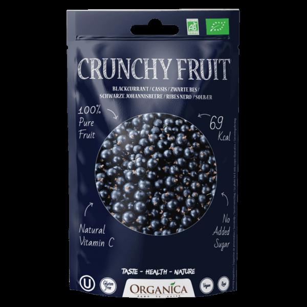 Organica Bio Crunchy Fruit, Schwarze Johannisbeere