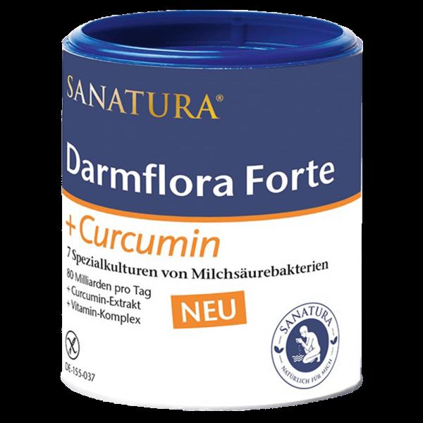 Sanatura Darmflora Forte mit Curcumin