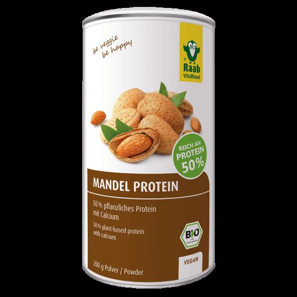 Raab Vitalfood Bio Mandel Protein Pulver, 200g