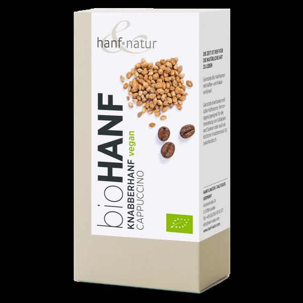 hanf natur Bio Knabberhanf Cappuccino, 100g