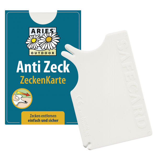 Aries Anti Zeck Zeckenkarte