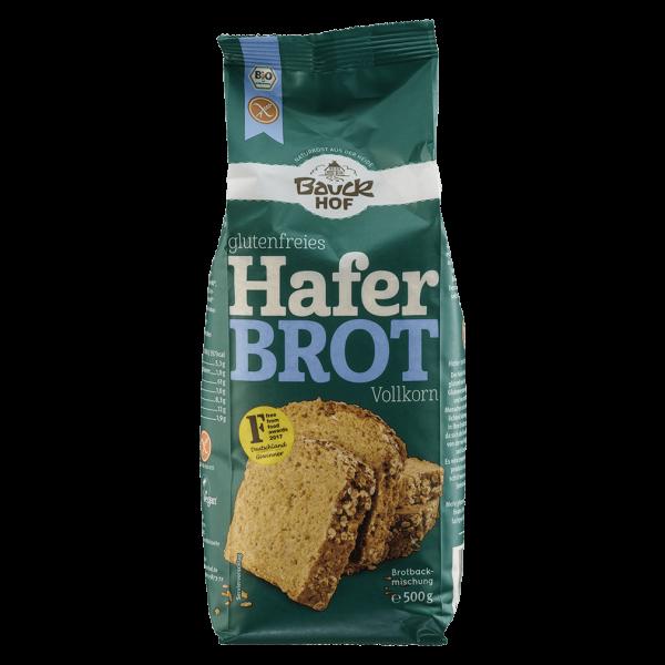 Bauckhof  Bio glutenfreies Haferbrot Vollkorn