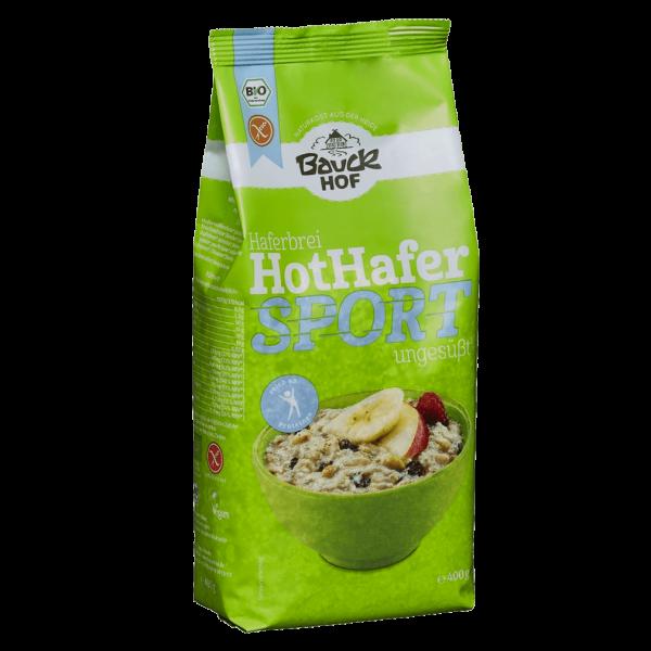Bauckhof Bio Hot Hafer Sport glutenfrei