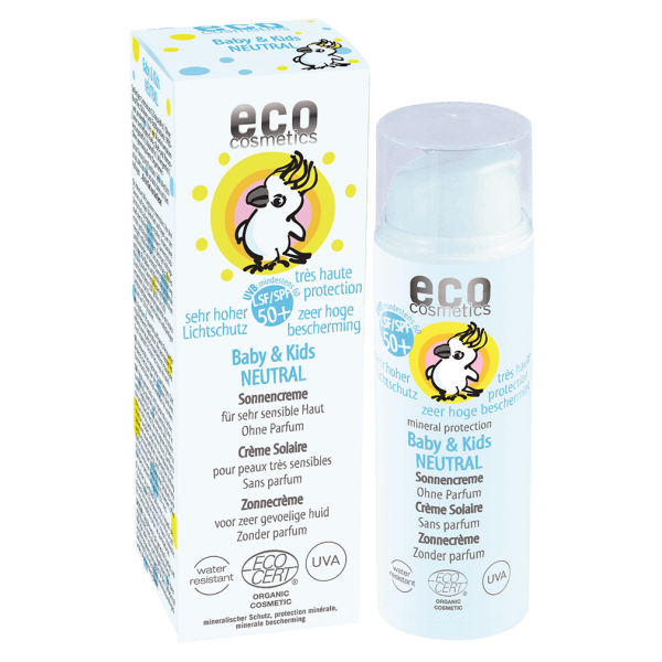 Eco Cosmetics Baby & Kids Sonnencreme neutral LSF 50+, 50ml