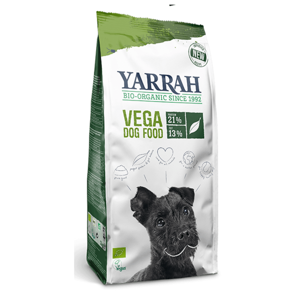 Yarrah Bio Hundetrockenfutter vegan, 2kg