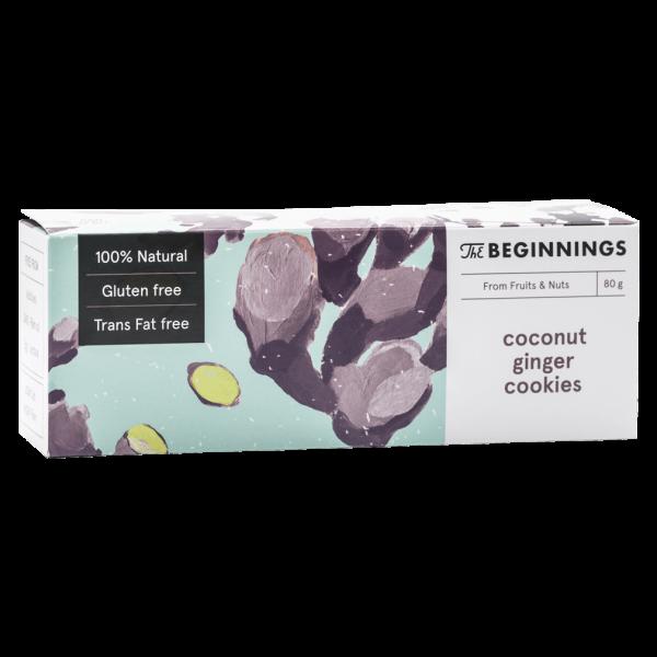 Kokos-Ingwer Cookies