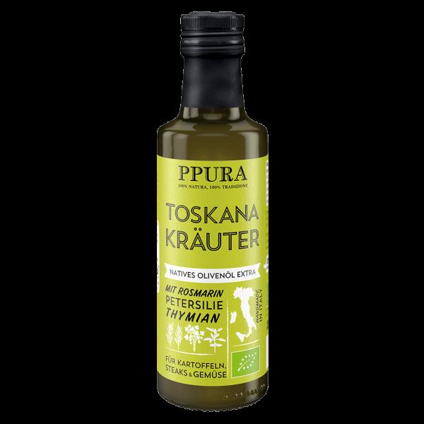 PPura Bio Olivenöl Toskana Kräuter