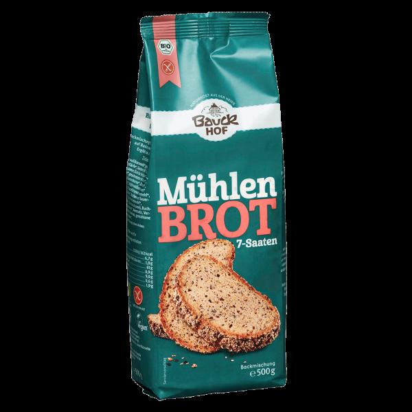 Bauckhof  Mühlenbrot 7-Saaten glutenfrei