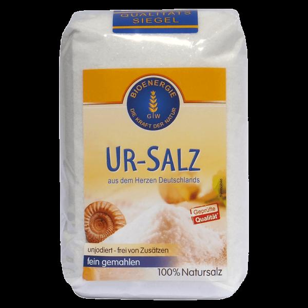 Bioenergie Ur-Salz fein gemahlen