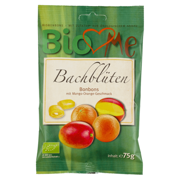 Bio loves Me Bio Bachblüten Bonbons Mango-Orange