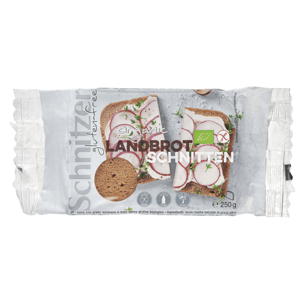 Schnitzer Bio Landbrot Schnitten
