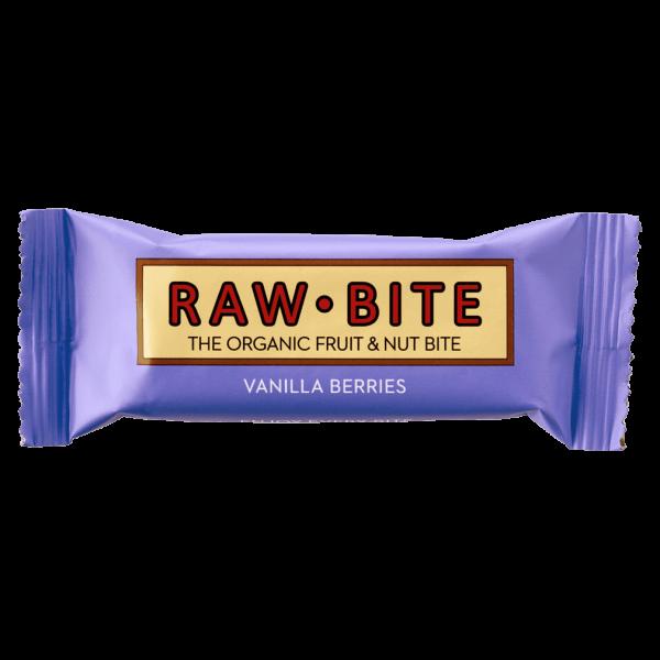 RAW BITE Bio Vanilla Berries Riegel