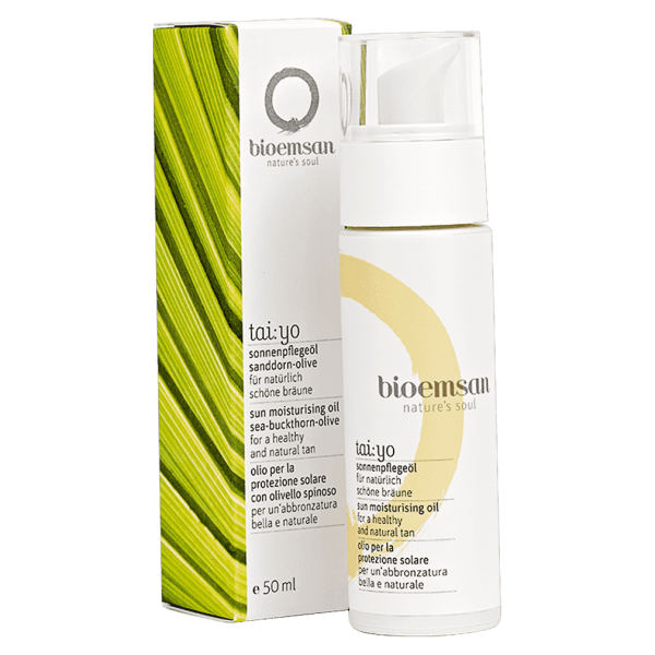 bioemsan Sonnenpflegeöl Sanddorn-Olive